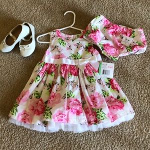 Toddler dress with bloomers 24M